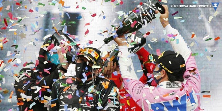 Formula 1'de 7. kez şampiyon olan Hamilton: Bu, hayallerimizin çok çok ötesinde