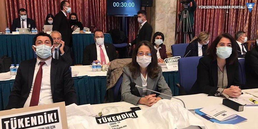 HDP'li vekilden Sağlık Bakanına Kürtçe tepkisi