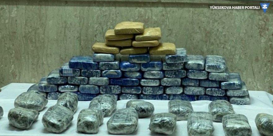 Van'da 44 kilogram uyuşturucu ele geçirildi
