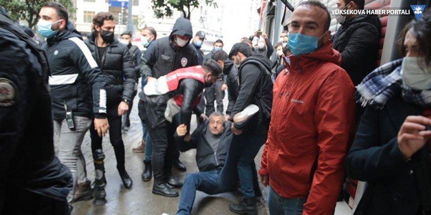 HDP açıklamasına müdahale: Çok sayıda gözaltı