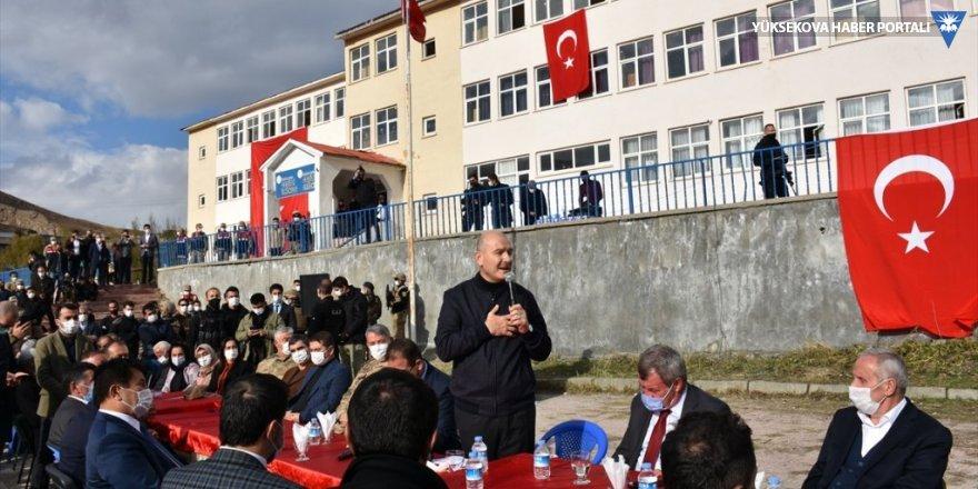 İçişleri Bakanı Süleyman Soylu, Hakkari'de konuştu: Kürt kardeşlerimiz bu ülkenin çimentosudur