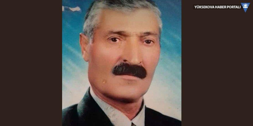 Yüksekova'da vefat: Muhyettin Yalçın vefat etti