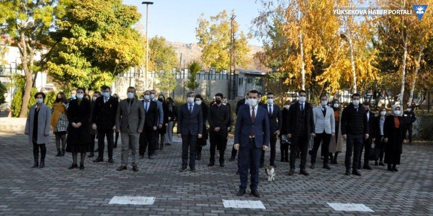 Çukurca'da öğretmenler günü etkinliği