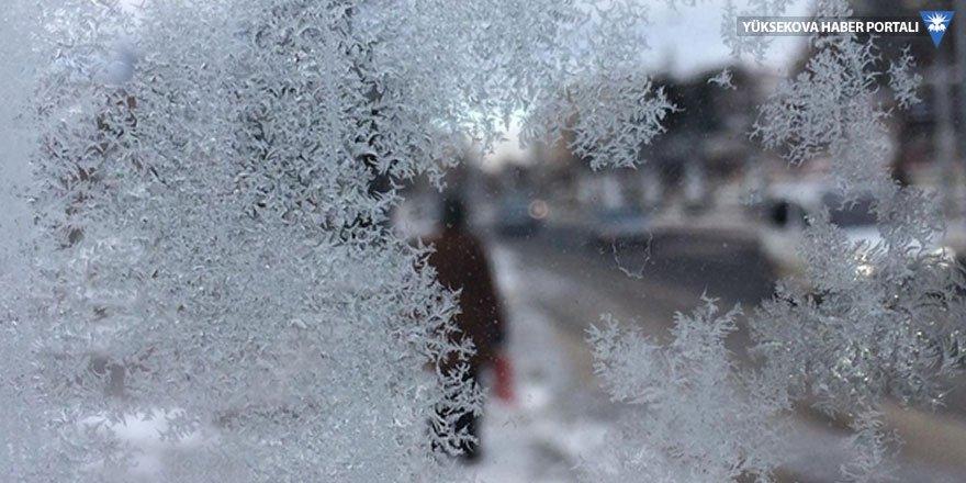 Hakkari, Van, Muş ve Bitlis için buzlanma ve don uyarısı
