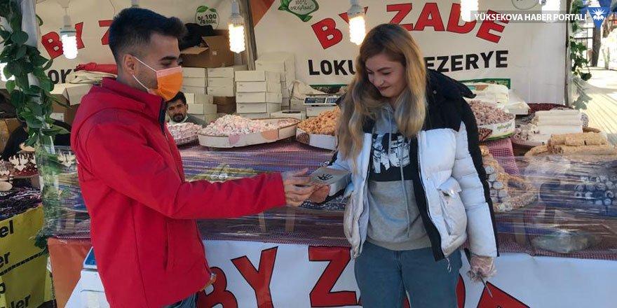 Yüksekova'da 'Kadına Yönelik Şiddetle Mücadele' günü etkinliği