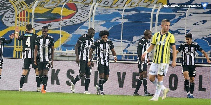 Fenerbahçe'yi 4-3 yenen Beşiktaş, 15 yıl sonra Kadıköy'de kazandı