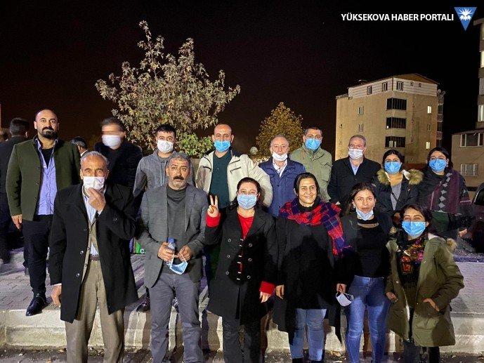 Şırnak'ta 7 kişi serbest bırakıldı