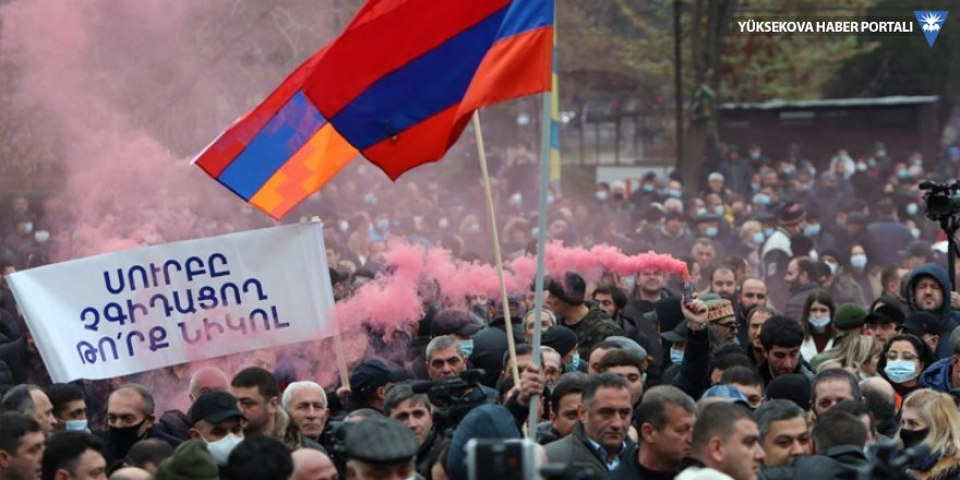 Protestoculardan Paşinyan'a 3 gün süre