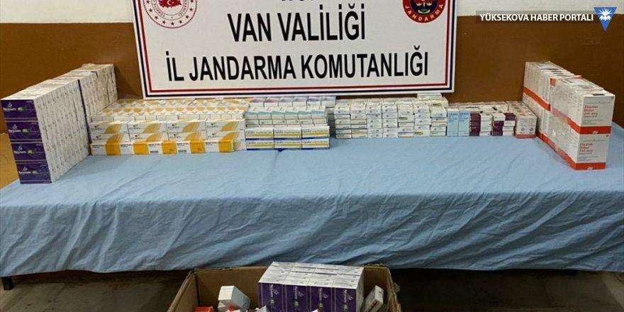 Van'ın İran sınırında tıbbi malzeme ele geçirildi