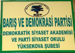 BDP Siyaset akademisi kapılarını açıyor