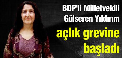 BDP'li Yıldırım açlık grevine başladı