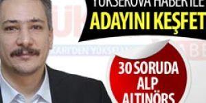 30 soruda Alp Altınörs