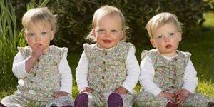Hamileyken hamile kaldı üçünü de doğurdu!