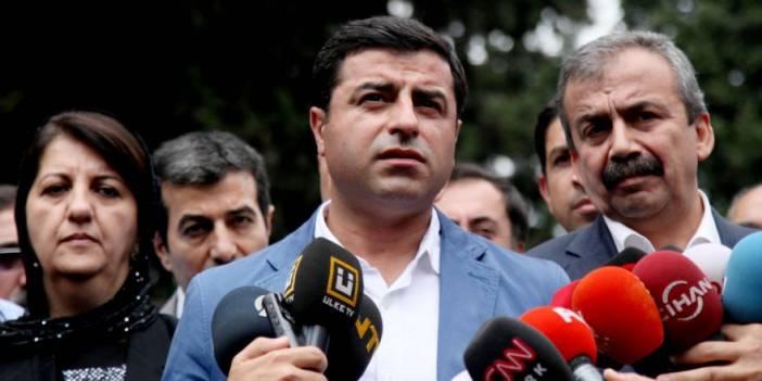 Demirtaş: Başbakan bir çağrı yapsın olaylar kesilir