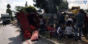 3 tarım işçisi kazada yaşamını yitirdi