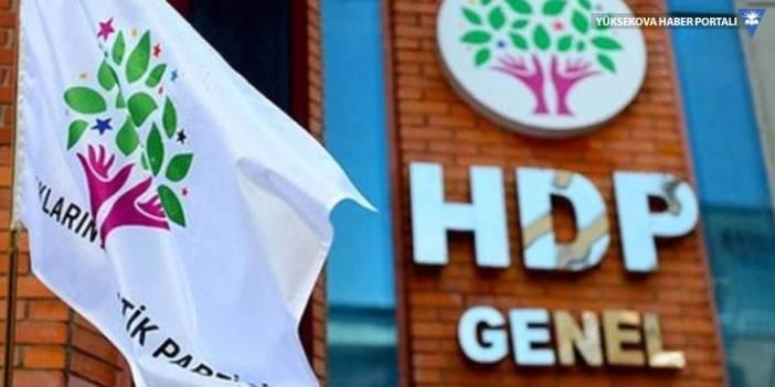 HDP: Siyaset yargı işbirliği itiraf edilmiştir