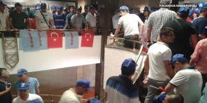 Türkiye Petrolleri genel müdürlüğünde işçi eylemi