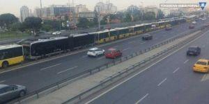 15 Temmuz etkinlikleri nedeniyle metrobüs FSM'den geçecek