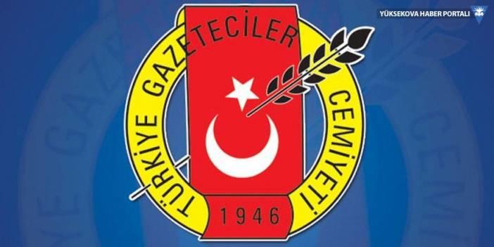 Türkiye Gazeteciler Cemiyeti: Gazetecilerin çalışması engellenmesin!