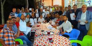 MHP Bigadiç'te toplu istifa