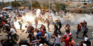 İsrail polisi cemaate saldırdı