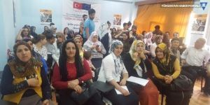 Hakkari'de göç mağduru ailelere seminer