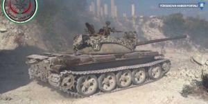 Lazkiye'de cihatçılardan tank saldırısı