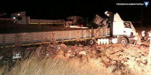Nusaybin'de trafik kazası: 1 ölü, 1 yaralı