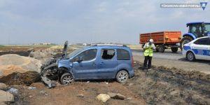 Siverek'te trafik kazası: 3'ü çocuk 5 yaralı