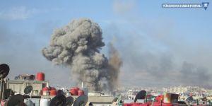 IŞİD'e karşı Telafer bombardımanı başladı