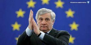 AP Başkanı Tajani: Erdoğan'ın politikalarına katılmıyoruz