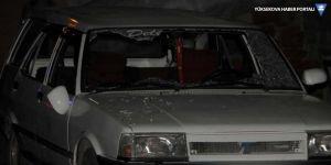 Kına dönüşü otomobil tarandı: 3 ölü, 1 yaralı