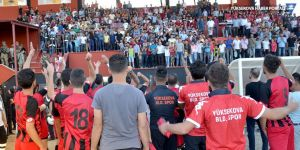 Yüksekova Belediyespor, Erciş GK Belediye'yi tek golle geçti