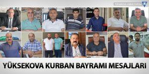 Yüksekova Kurban Bayramı Mesajları - 2017