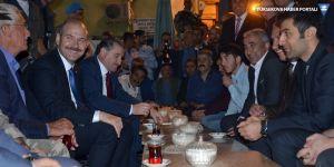Soylu ve Bak, Yüksekova'da temaslarda bulundu