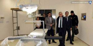 Vali Toprak'tan hastane ziyareti