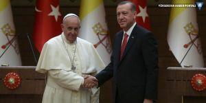 Erdoğan, Papa ile Kudüs'ü görüştü