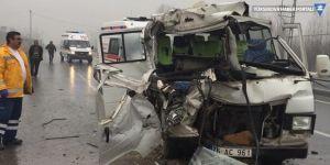 Iğdır'da Trafik kazası; 1 ölü 5 yaralı
