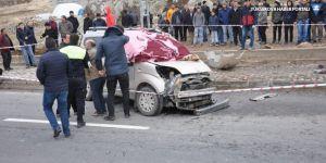 Patnos'ta trafik kazası: 1 ölü, 1 yaralı