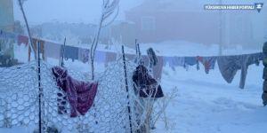 Çaldıran'da dondurucu soğuklar