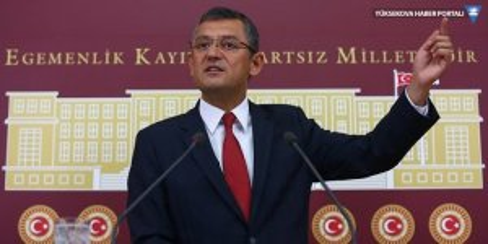 CHP Grup Başkanvekili Özgür Özel: Türkiye yolsuzlukla mücadelede tavsiyelere uymuyor