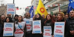 """KESK'ten """"OHAL değil demokrasi"""" çağrısı"""