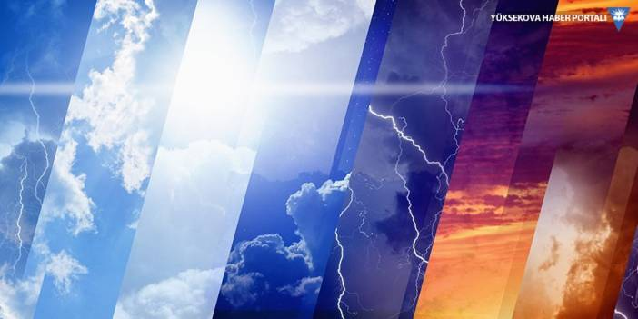 Van, Hakkari, Bitlis ve Hakkari için fırtına uyarısı