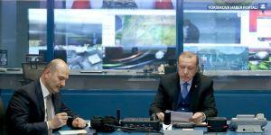 Erdoğan, video konferansla Afrin hakkında bilgi aldı