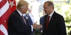 Erdoğan ve Trump 'güvenli bölgeyi' görüştü