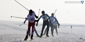 Yüksekovalı kayakçıların hedefleri de yüksek