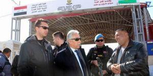 Vali Toprak, Üzümlü Sınır Kapısında incelemelerde bulundu