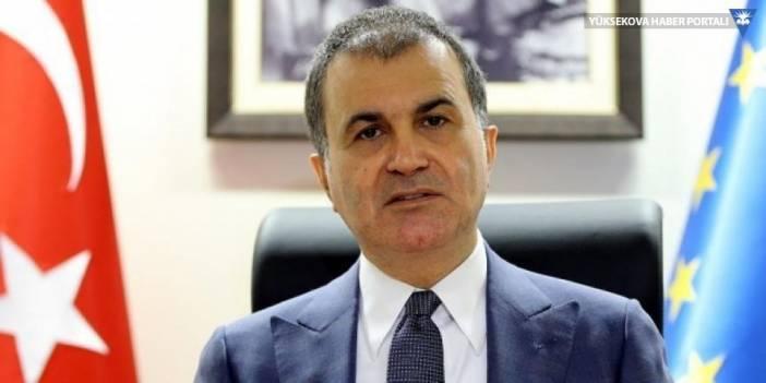 AB Bakanı Çelik: AP cahilane bir karara imza attı