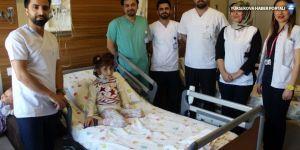 Bölgede ilk kez bir çocuğa kalp kapakçığı ameliyatı yapıldı