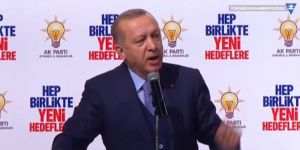 Erdoğan: Bir helikopterimiz düşürüldü